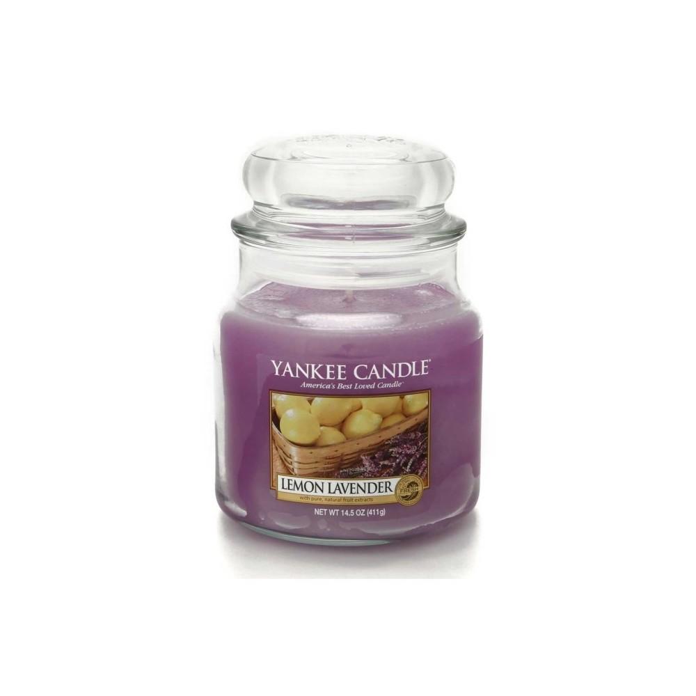 Candela Media Lemon Lavender Yankee Candle Casa In Shop