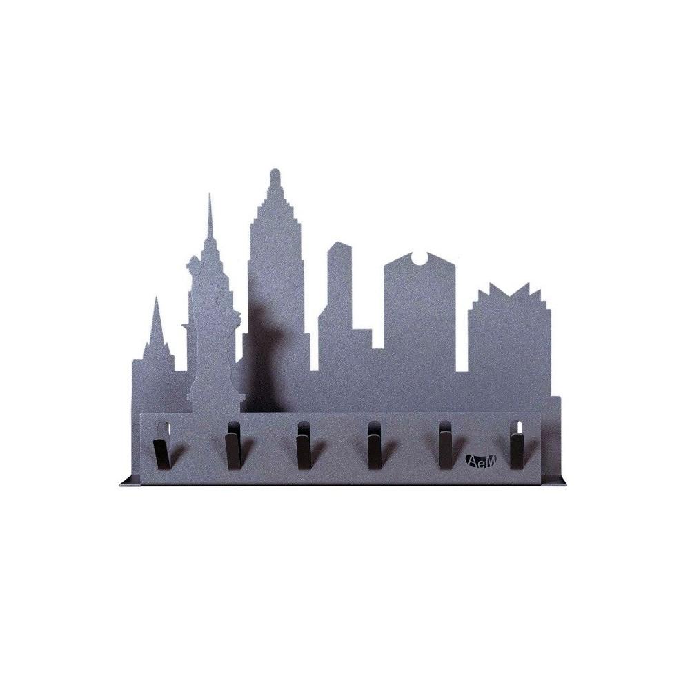 New york portachiavi da parete arti e mestieri casa in - Portachiavi da parete ...