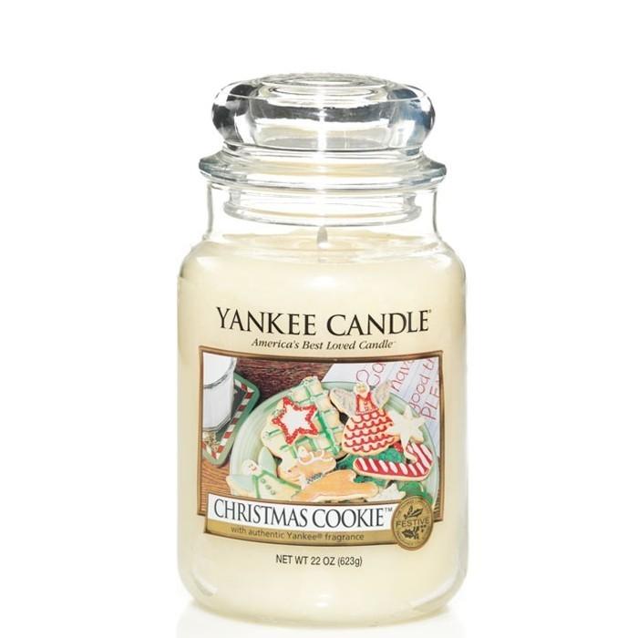 Candela grande CHRISTMAS COOKIE Yankee Candle