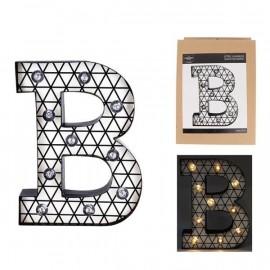 Lettera luminosa a led B