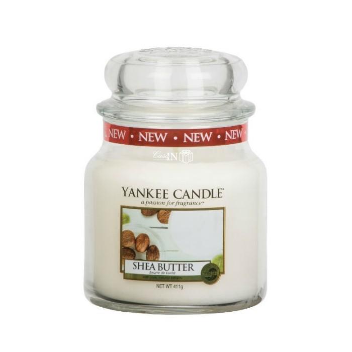 Candela media SHEA BUTTER Yankee Candle