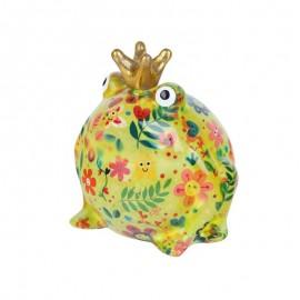 King Frog Salvadanaio giallo Pomme Pidou