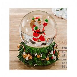 Palla di Neve mini con Babbo Natale
