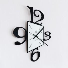 Orologio da parete PROSPETTIVA nero Arti e Mestieri