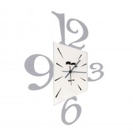 Orologio da parete PROSPETTIVA alluminio Arti e Mestieri