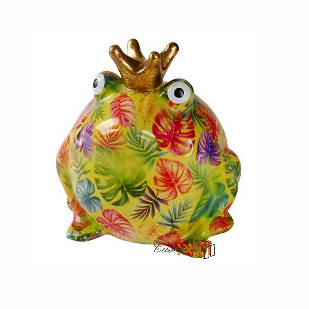 Pomme pidou king frog principe ranocchio lime con foglie for Oggetto casa