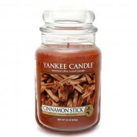 Candela in giara grande profumo cinnamon stick YANKEE CANDLE