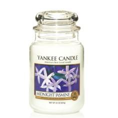Candela grande MIDNIGHT JASMINE Yankee Candle